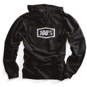 100% Corpo Pullover Hoodie Herren black